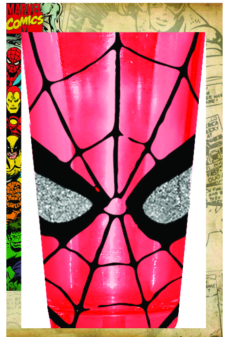 SPIDER-MAN EYES 16OZ PUB GLASS