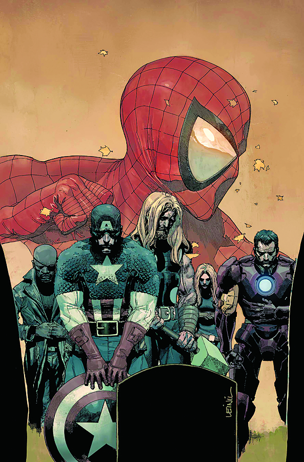 ULTIMATE AVENGERS VS NEW ULTIMATES #6 (OF 6) HITCH VAR DOSM