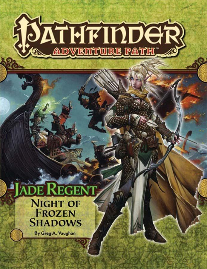 JUL112165 - PATHFINDER ADVENTURE PATH JADE REGENT PART 2