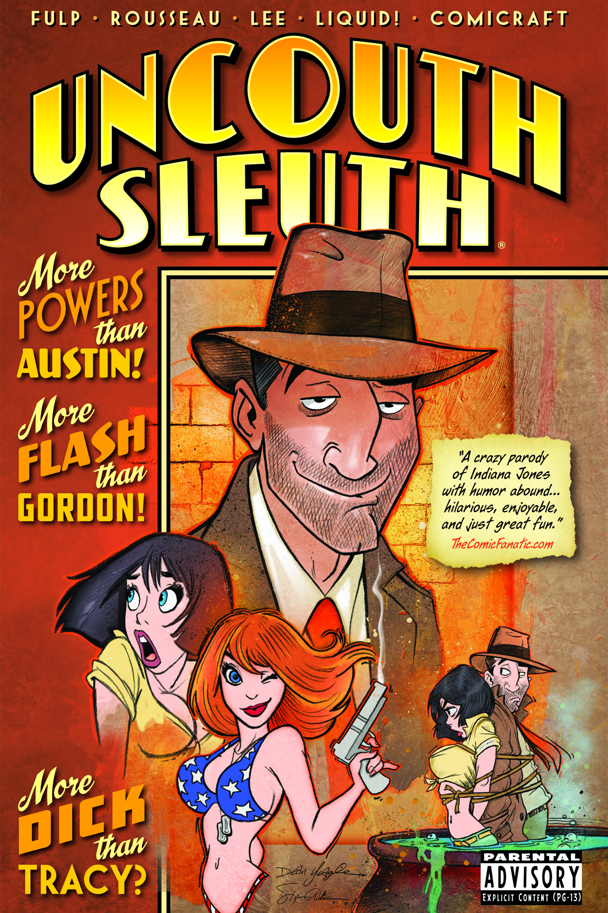 UNCOUTH SLEUTH GN VOL 01