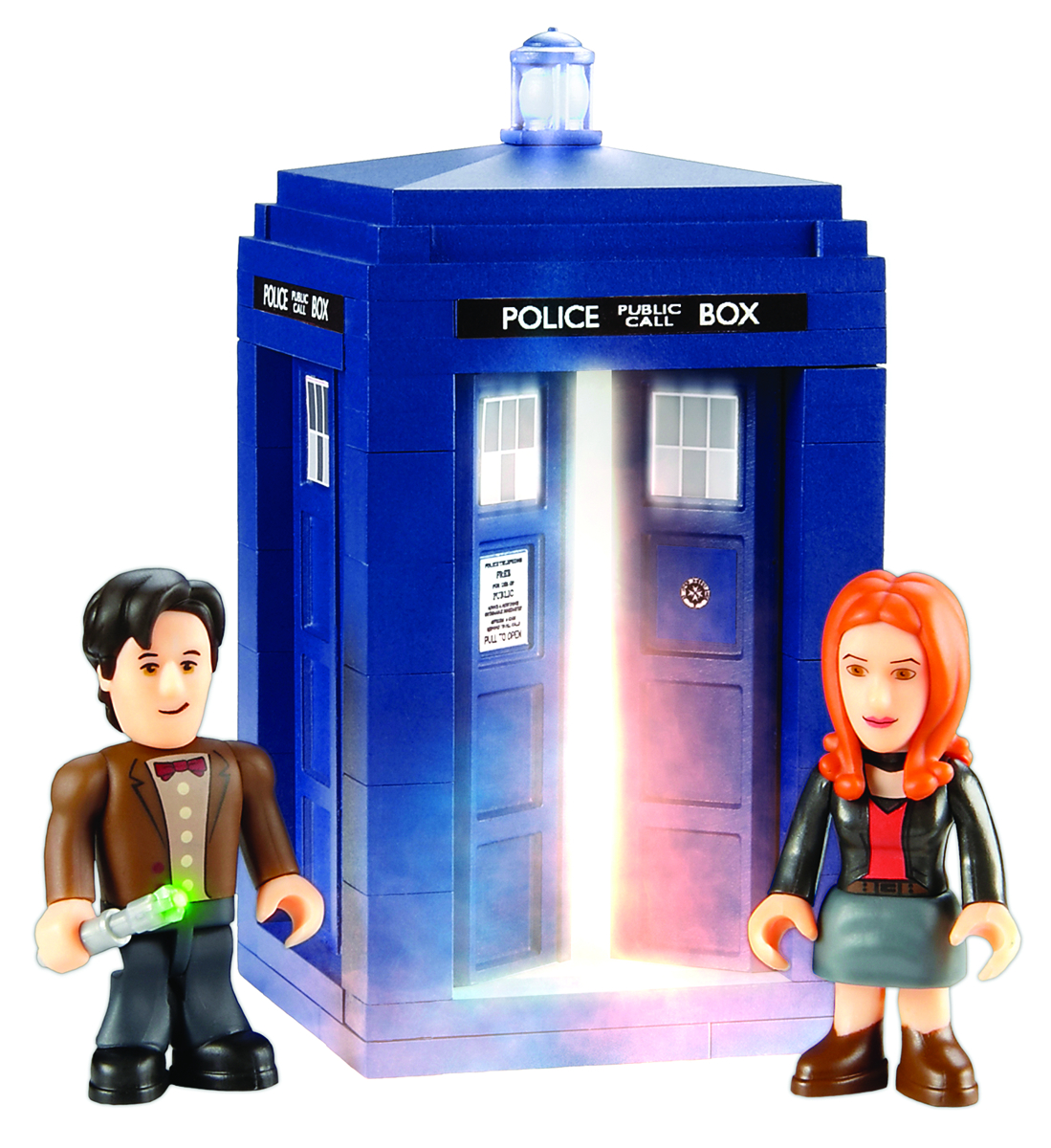 DOCTOR WHO CHAR BUILDING TARDIS MINI SET