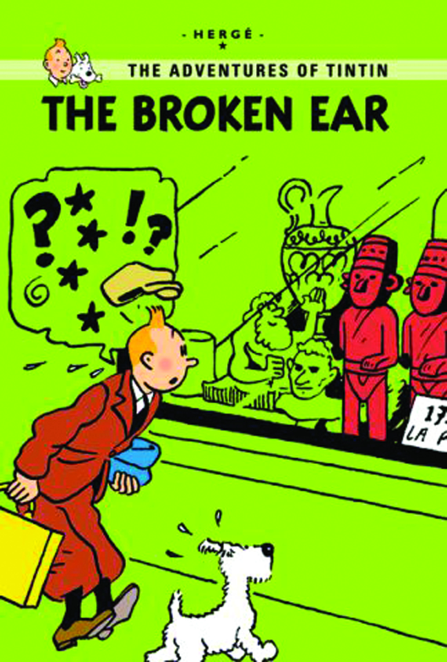 TINTIN YOUNG READERS ED GN BROKEN EAR