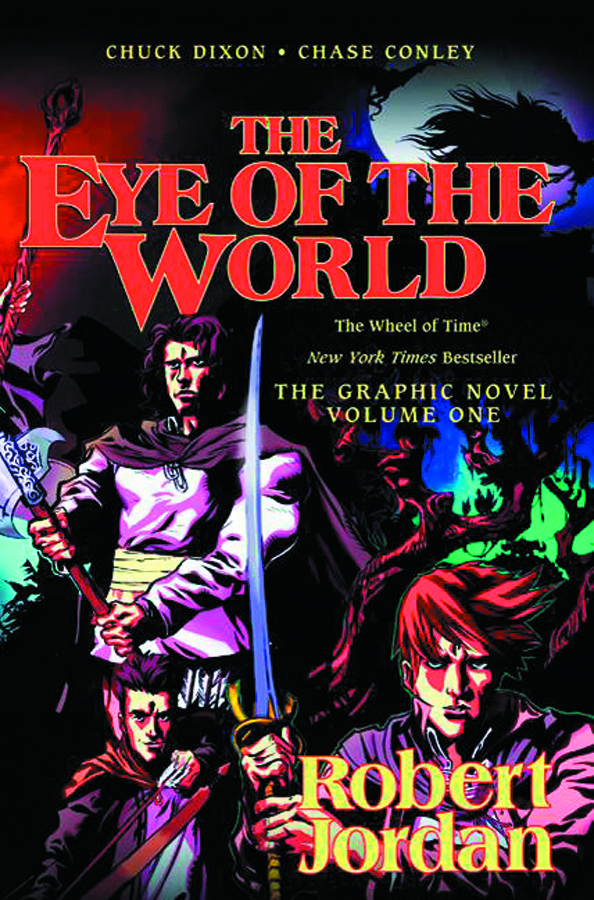 ROBERT JORDAN EYE OF THE WORLD HC VOL 01