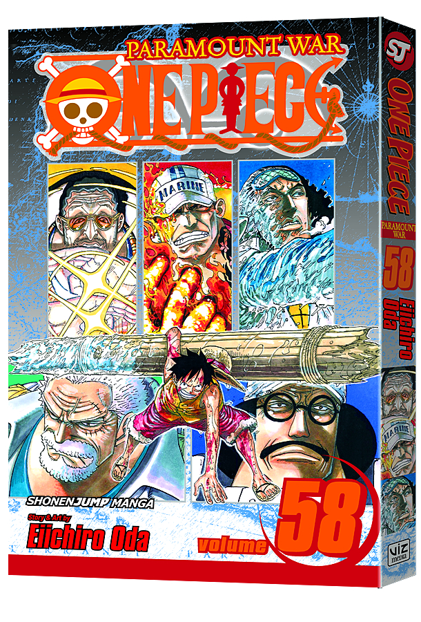 ONE PIECE GN VOL 58