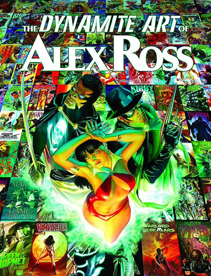 DYNAMITE ART OF ALEX ROSS HC