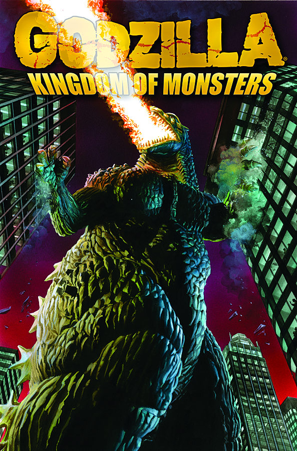 GODZILLA KINGDOM OF MONSTERS TP VOL 01