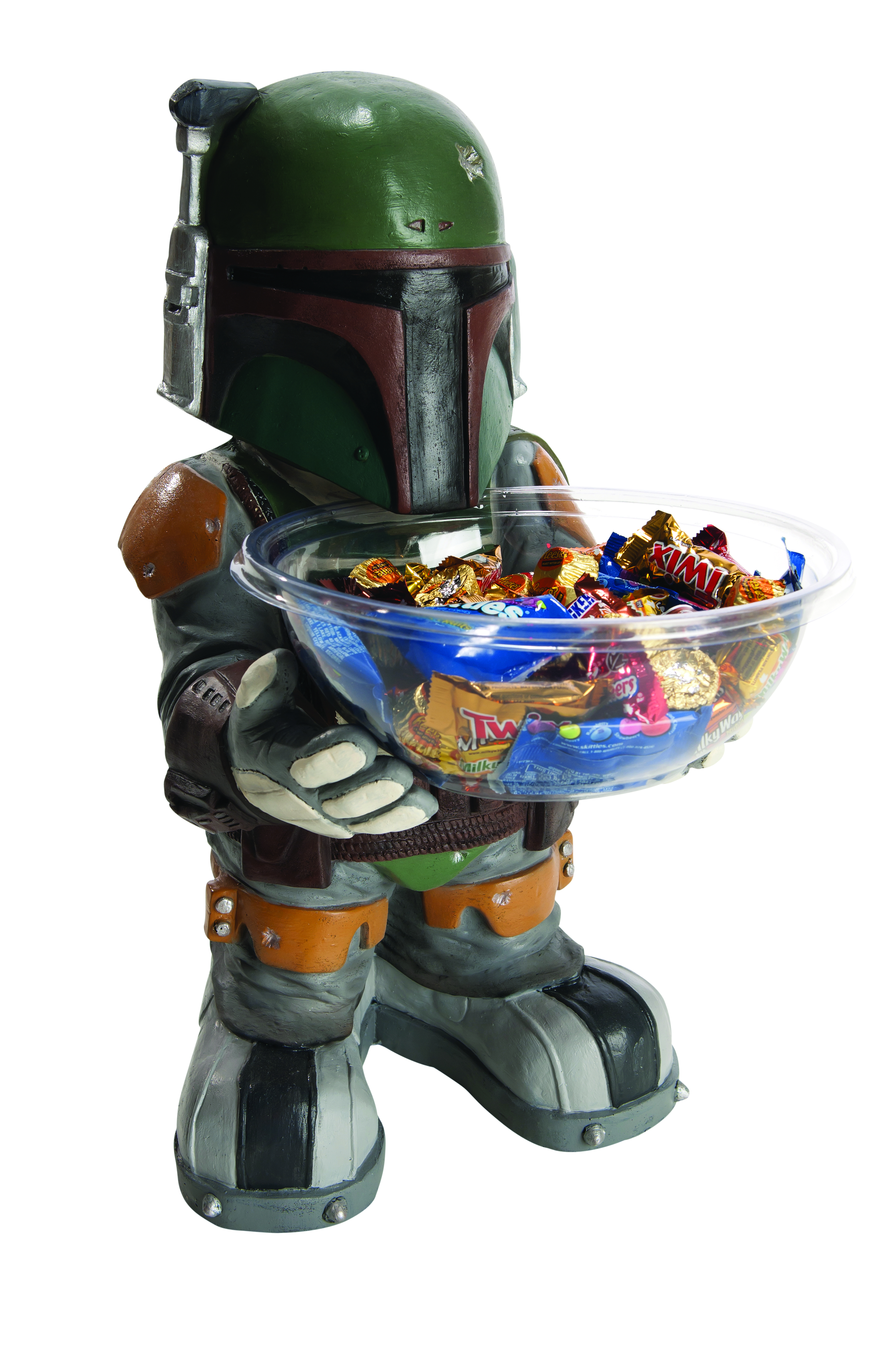 SW BOBA FETT CANDY BOWL HOLDER