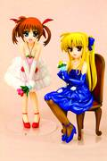MGLN NANOHA & FATE ANI-STATUE DRESS VER