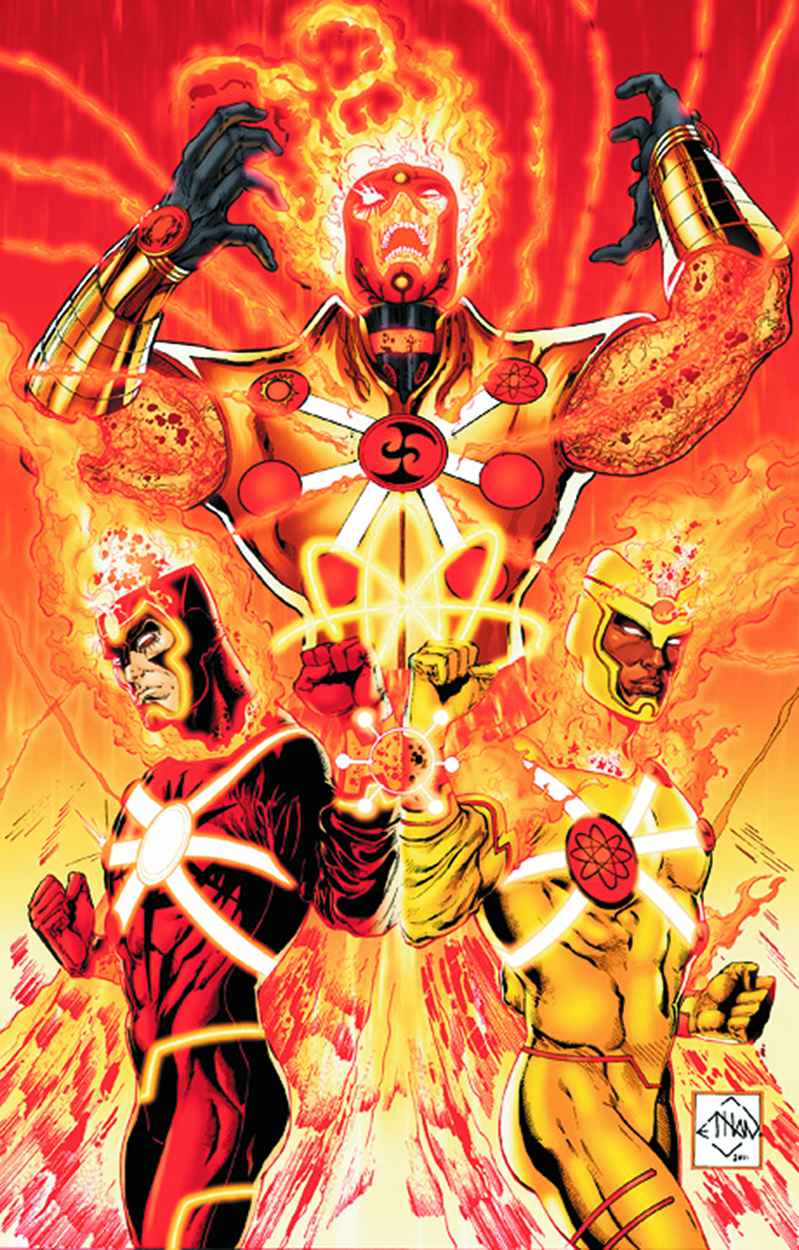 FURY OF FIRESTORM THE NUCLEAR MEN #1