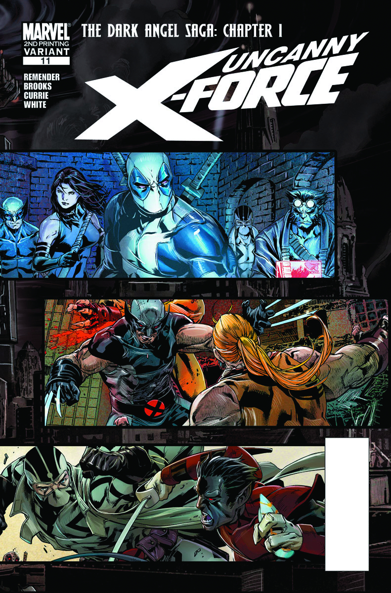 UNCANNY X-FORCE #11 2ND PTG BROOKS VAR (PP #975)