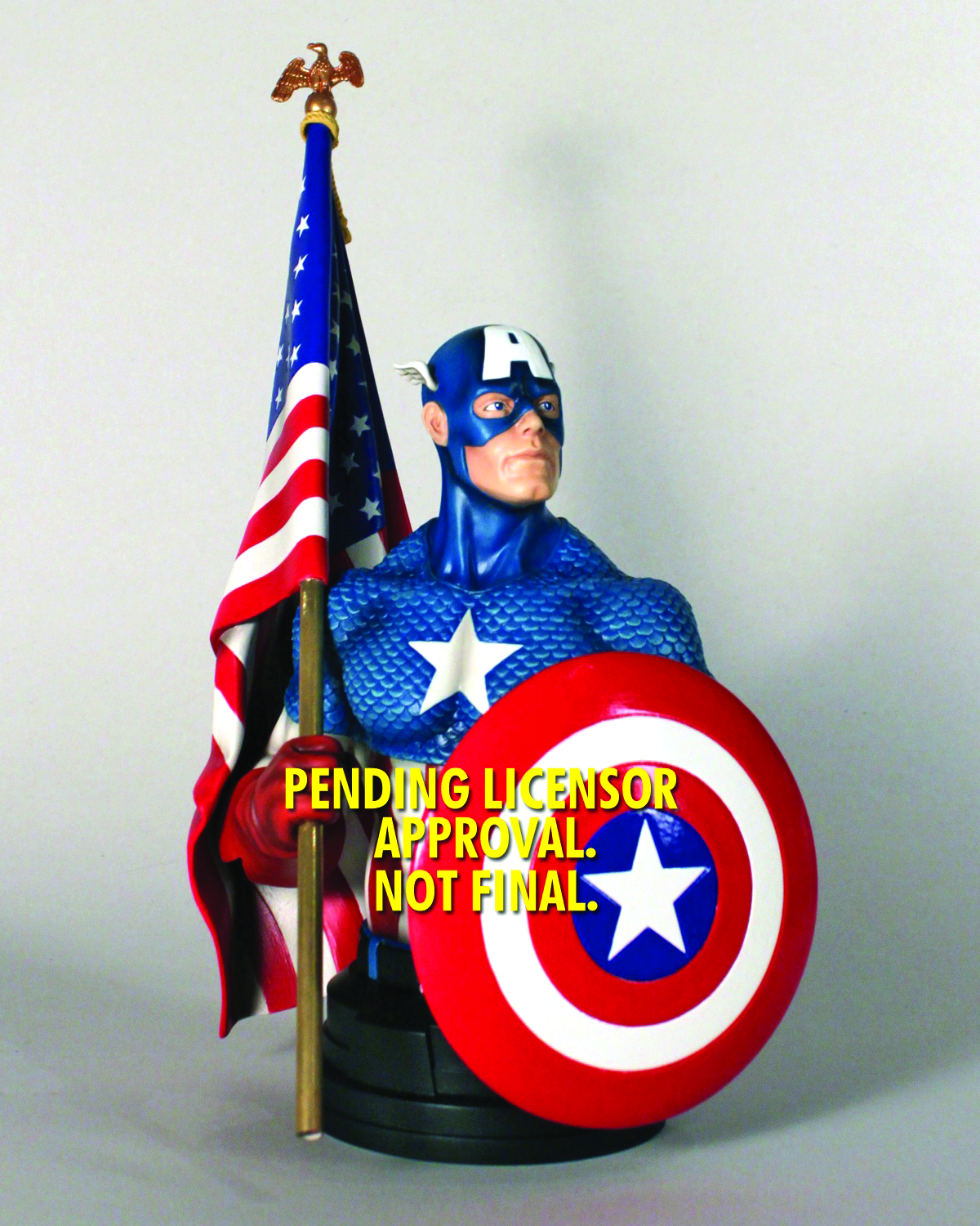 GENTLE GIANT CAPTAIN AMERICA CLASSIC MINI-BUST
