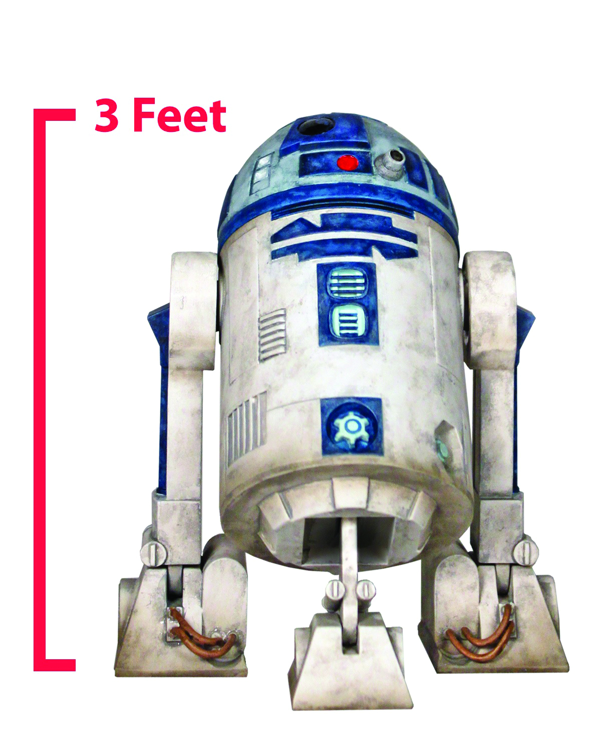 SW CLONE WARS R2-D2 1/1 SCALE MONUMENT