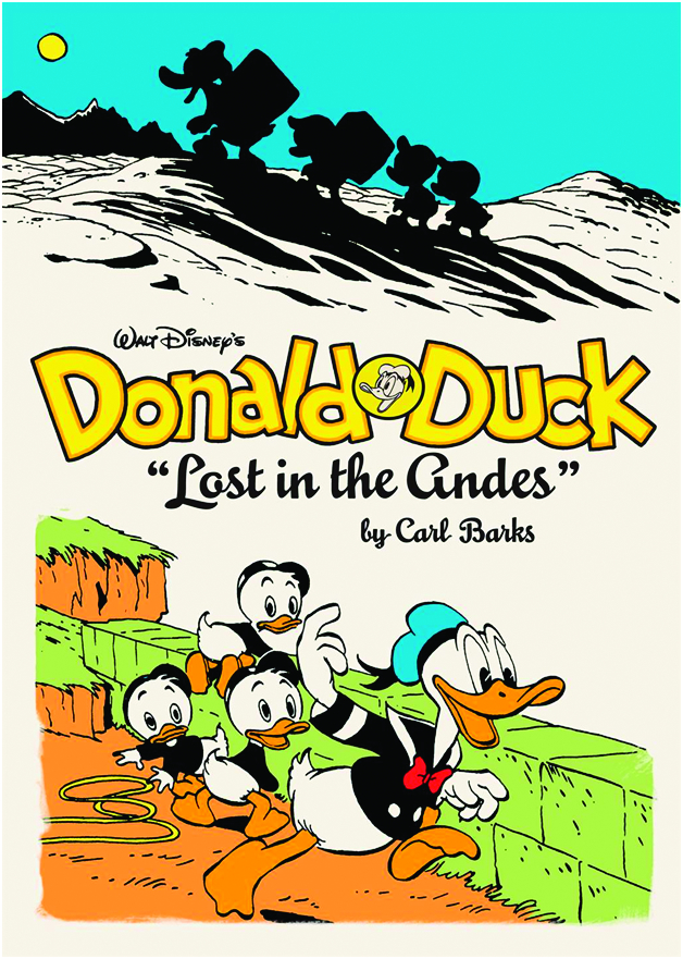 WALT DISNEY DONALD DUCK HC VOL 01 LOST IN ANDES (O/A)