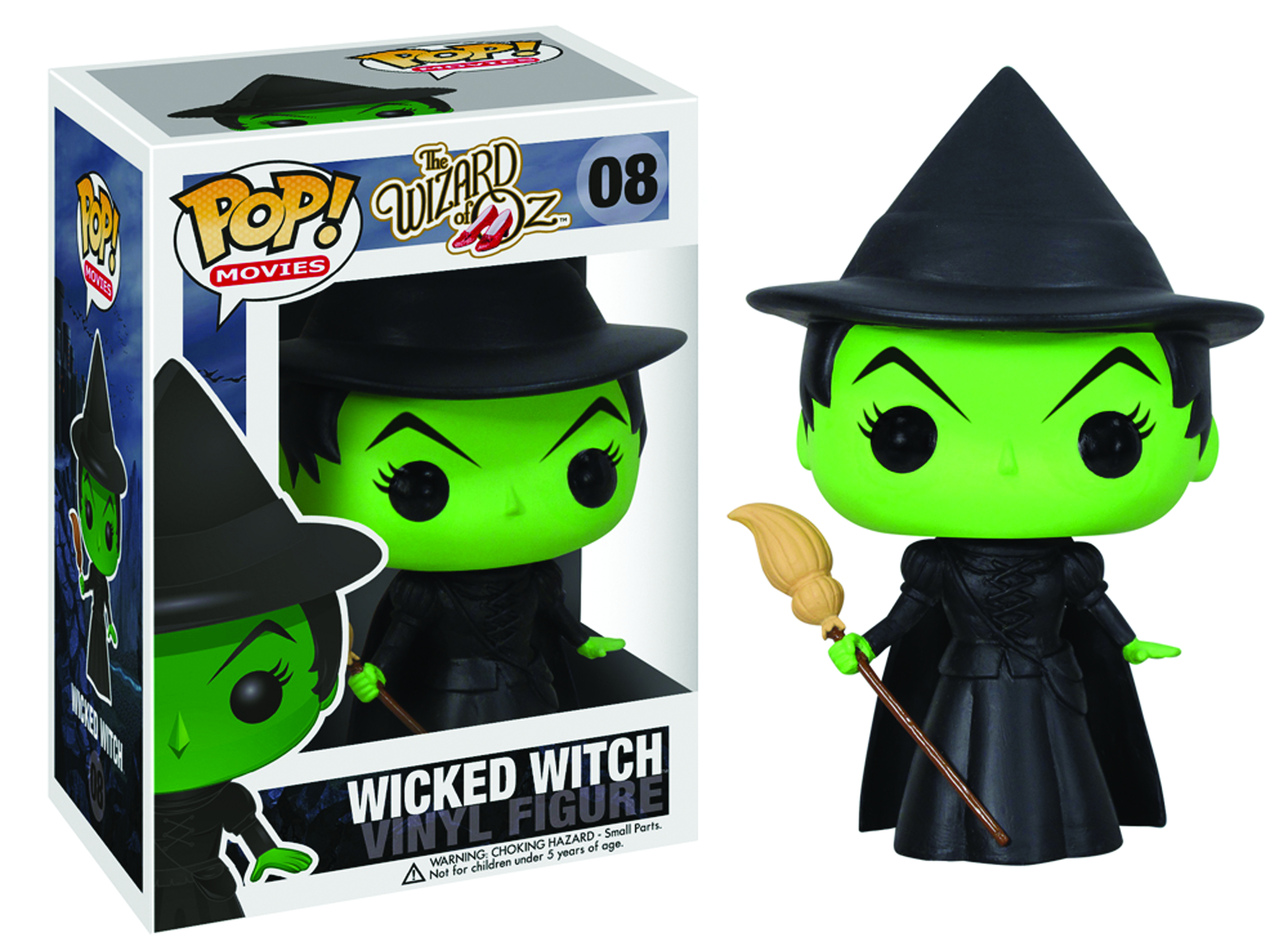 POP WIZARD OF OZ WICKED WITCH VINYL FIG