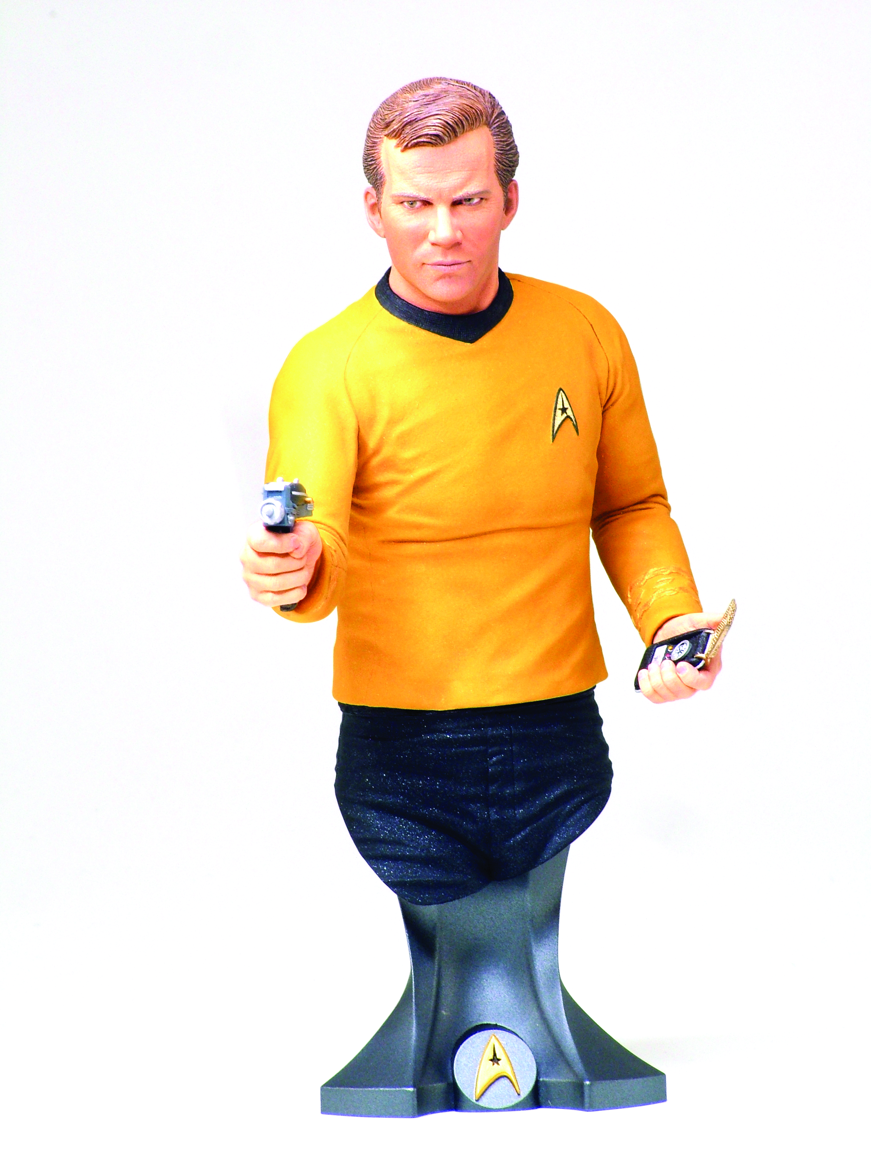 ST CAPTAIN JAMES T KIRK MAXI BUST