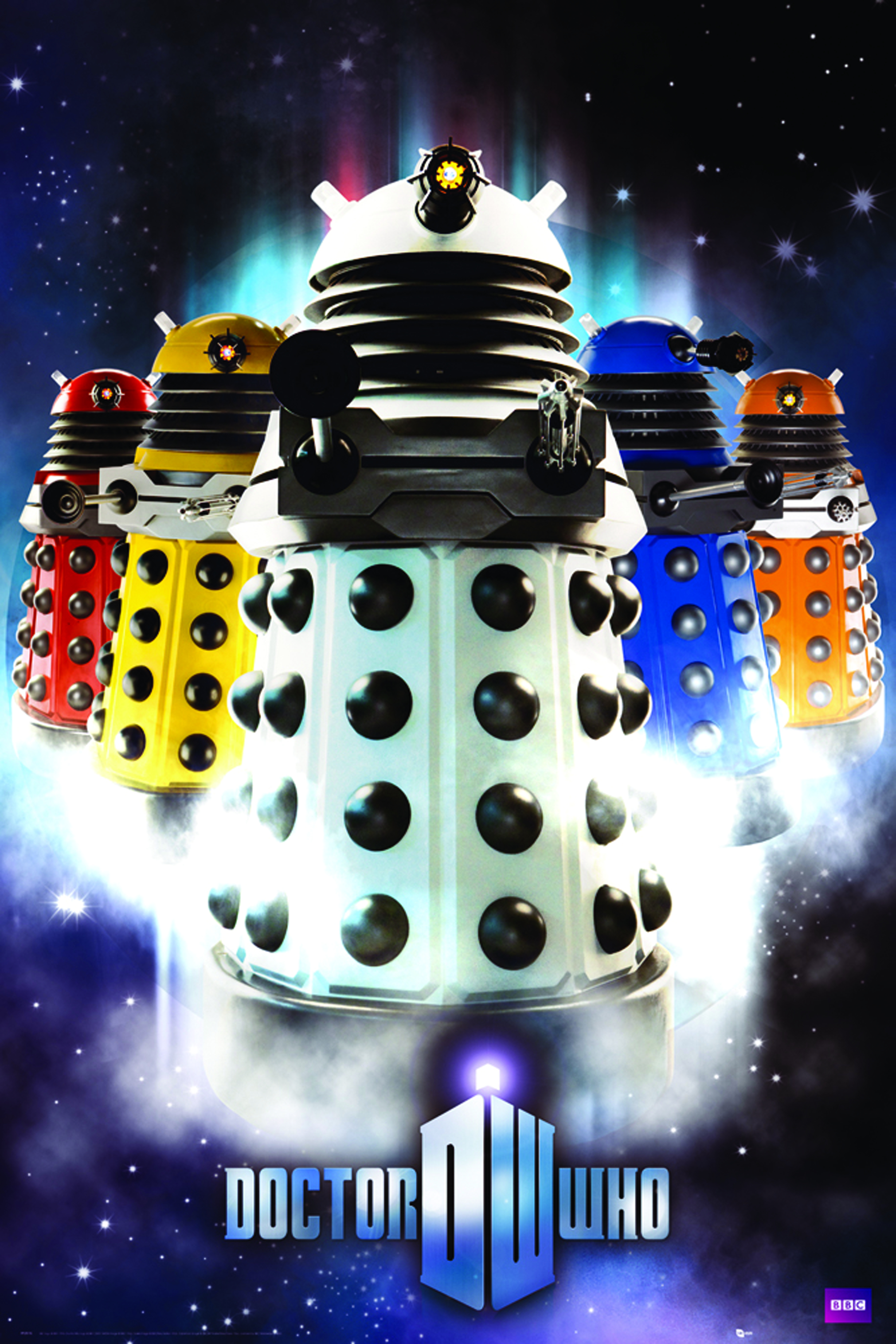 DOCTOR WHO DALEKS 24X36 POSTER