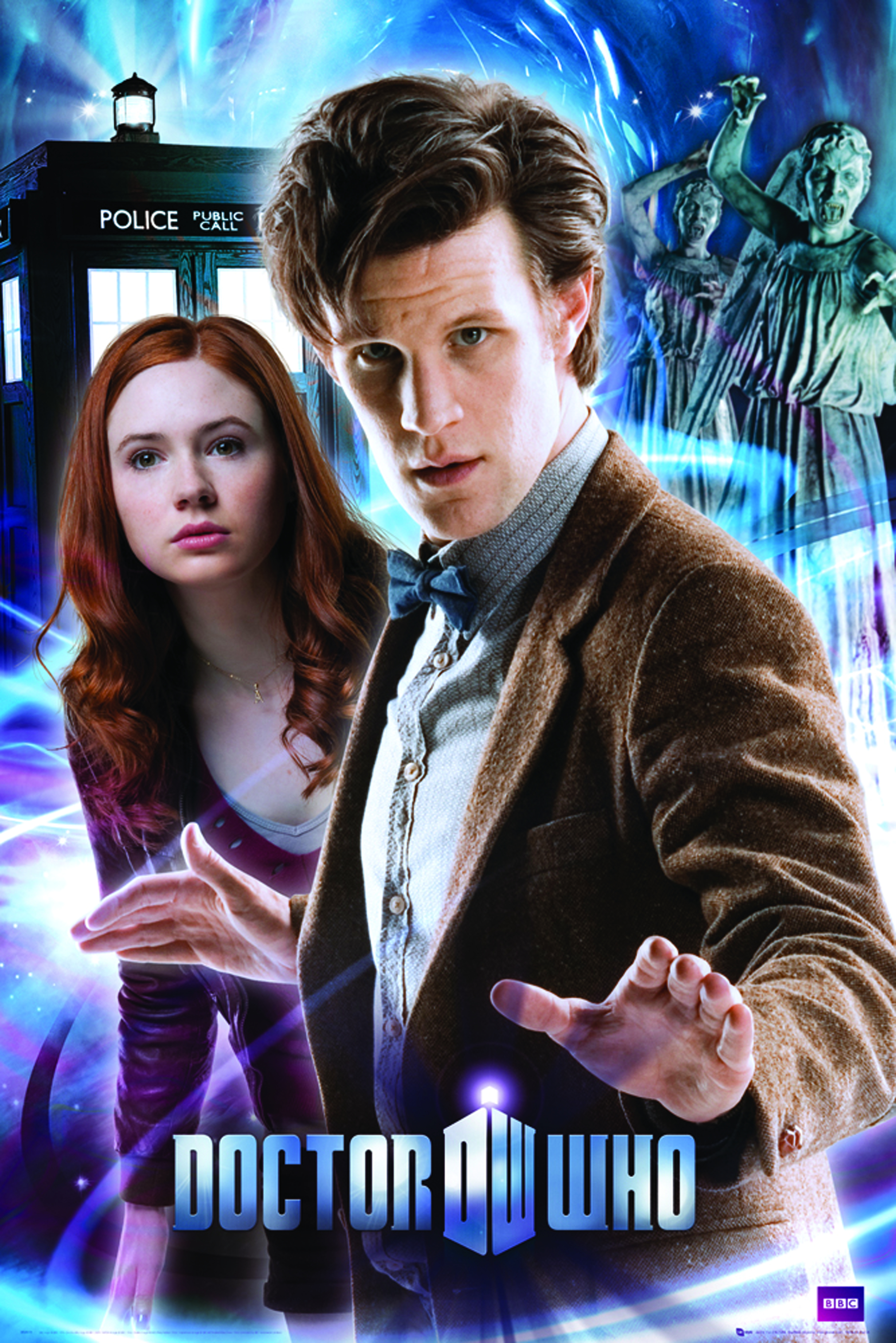DOCTOR WHO DOCTOR & AMY 24X36 POSTER