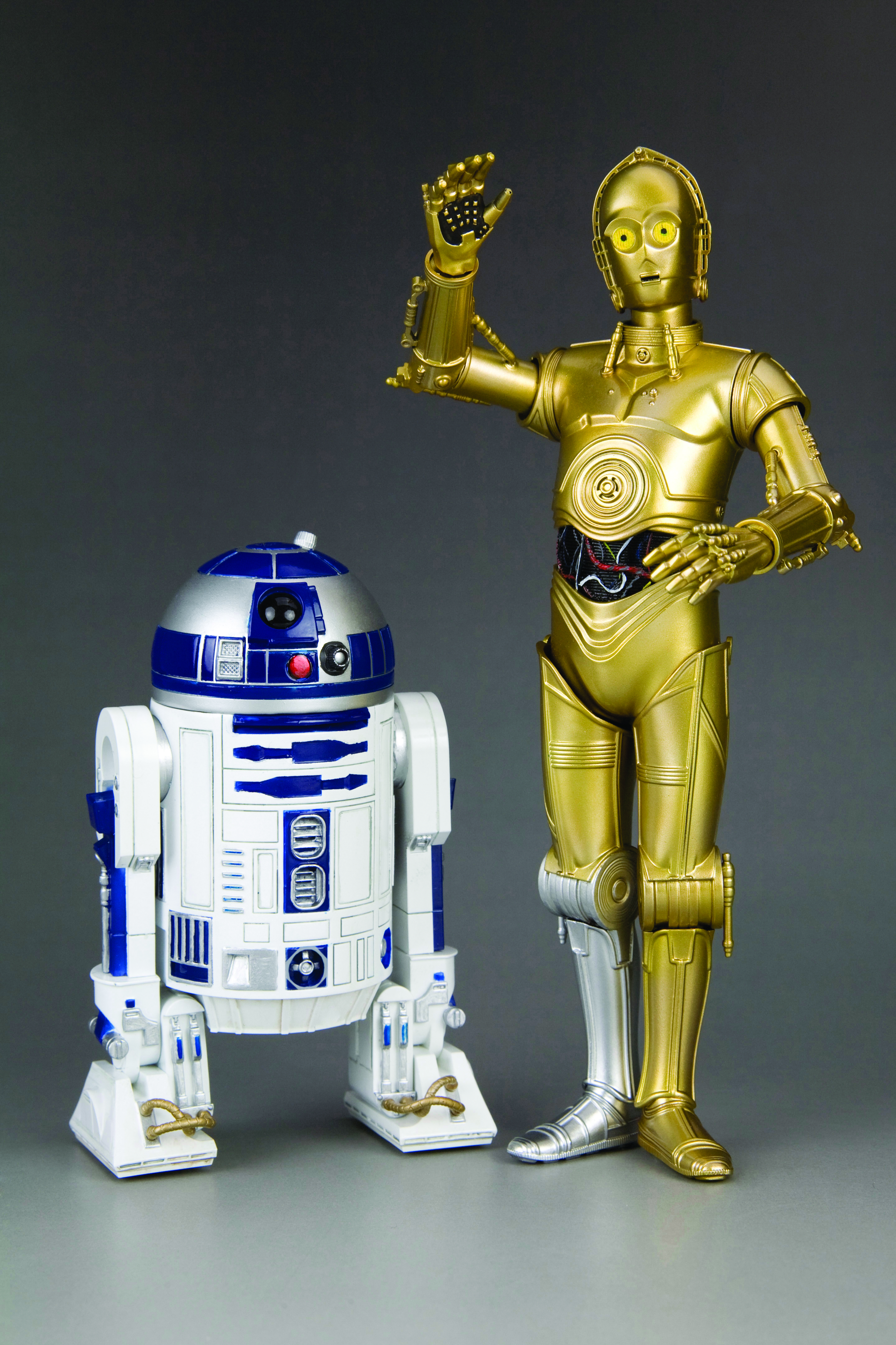 R2d2 And C3po Toys : Aug sw c po r d artfx statue pk previews