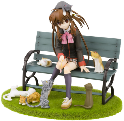 LITTLE BUSTERS RIN NATSUME ANI-STATUE CATS VER