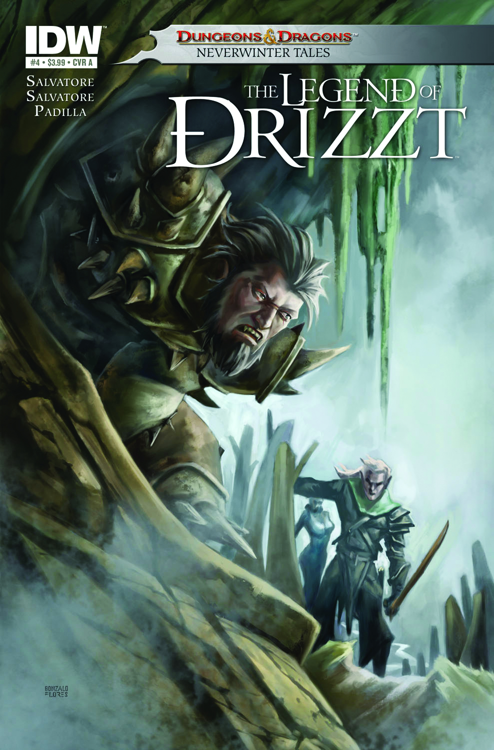 DUNGEONS & DRAGONS DRIZZT #4 (OF 5)