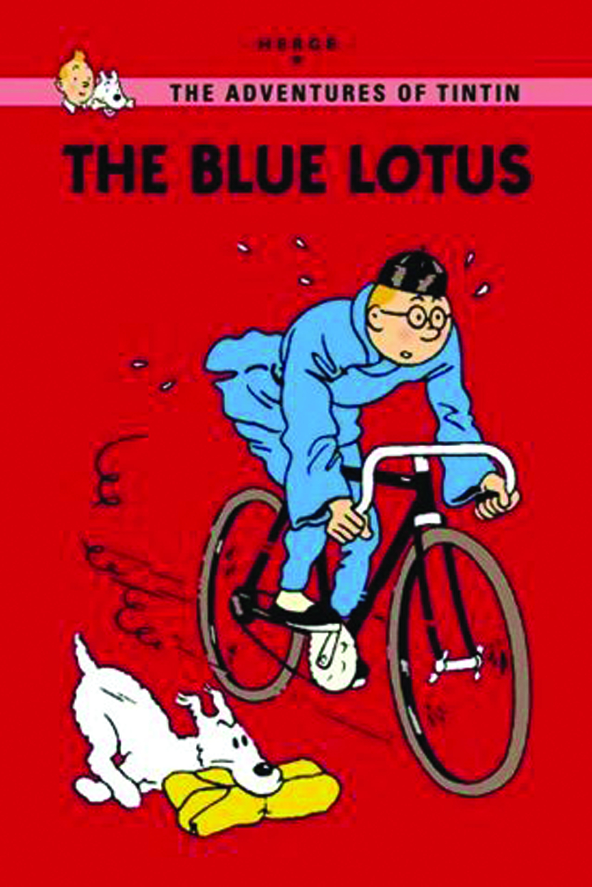 TINTIN YOUNG READERS ED GN BLUE LOTUS