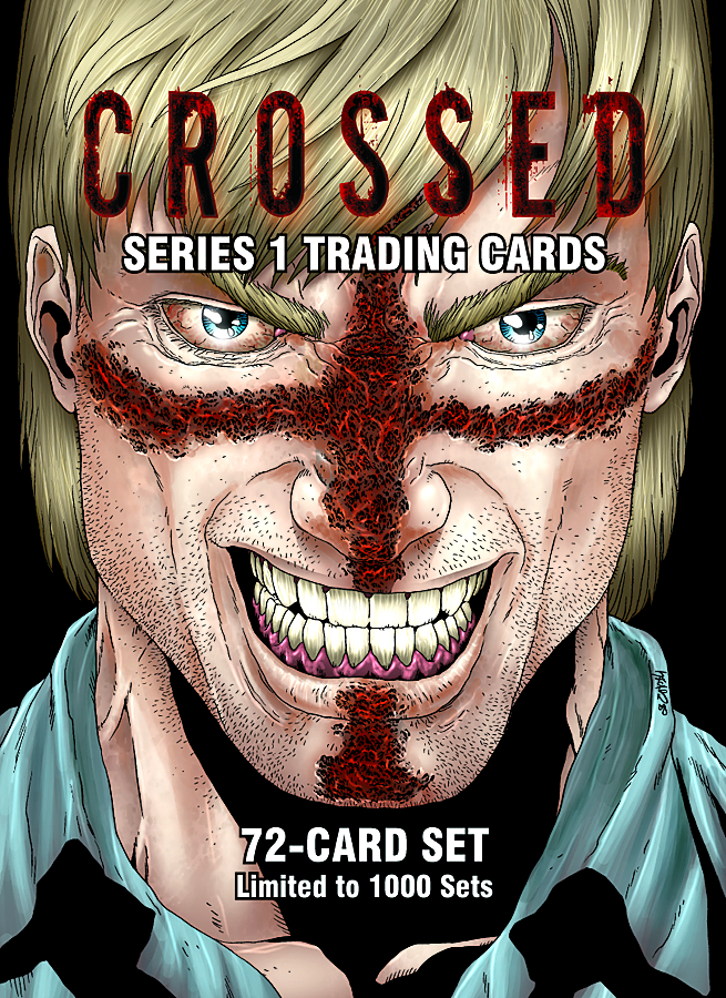CROSSED TRADING CARDS SERIES 1 SET