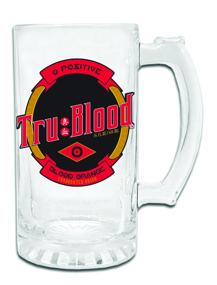 TRUE BLOOD LOGO BEER MUG