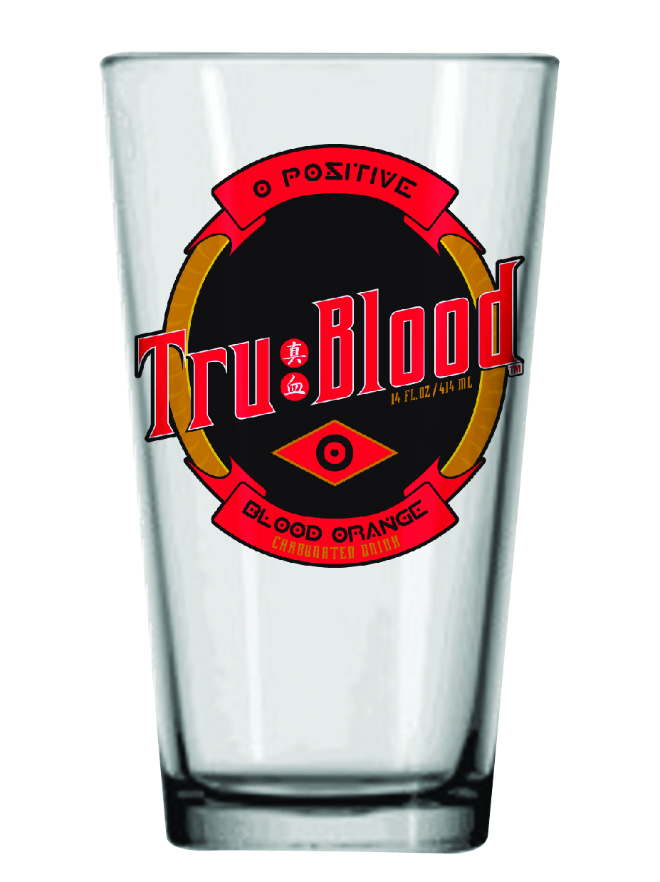 TRUE BLOOD LOGO PINT GLASS