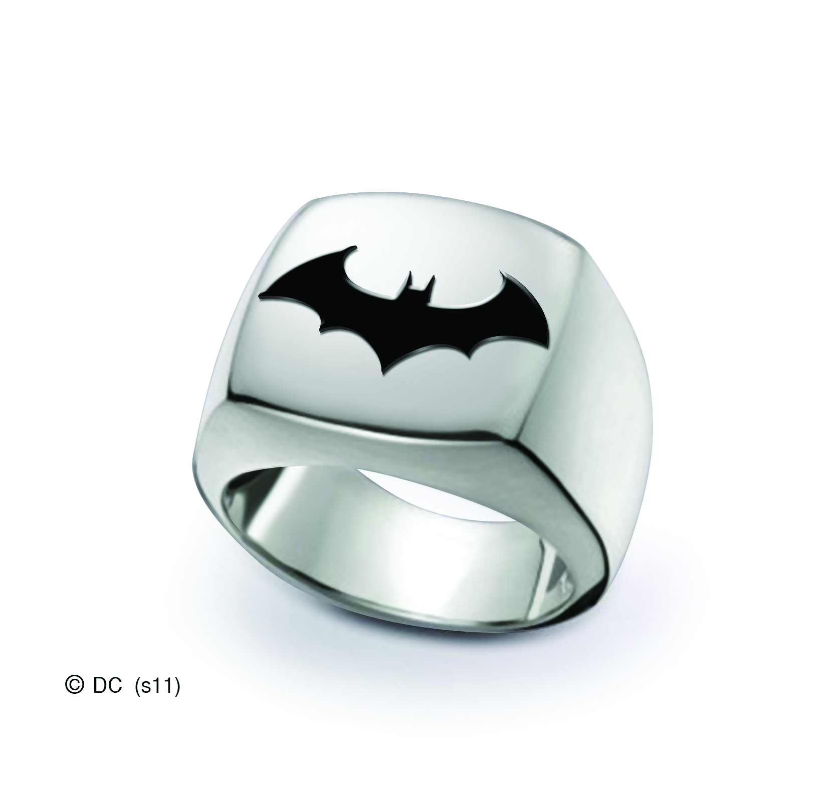 BATMAN SIGNET RING SIZE 8