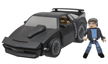 MINIMATES VEHICLE KNIGHT RIDER KITT SPM