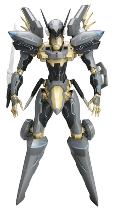 ZONE OF THE ENDERS JEHUTY PLASTIC MDL KIT