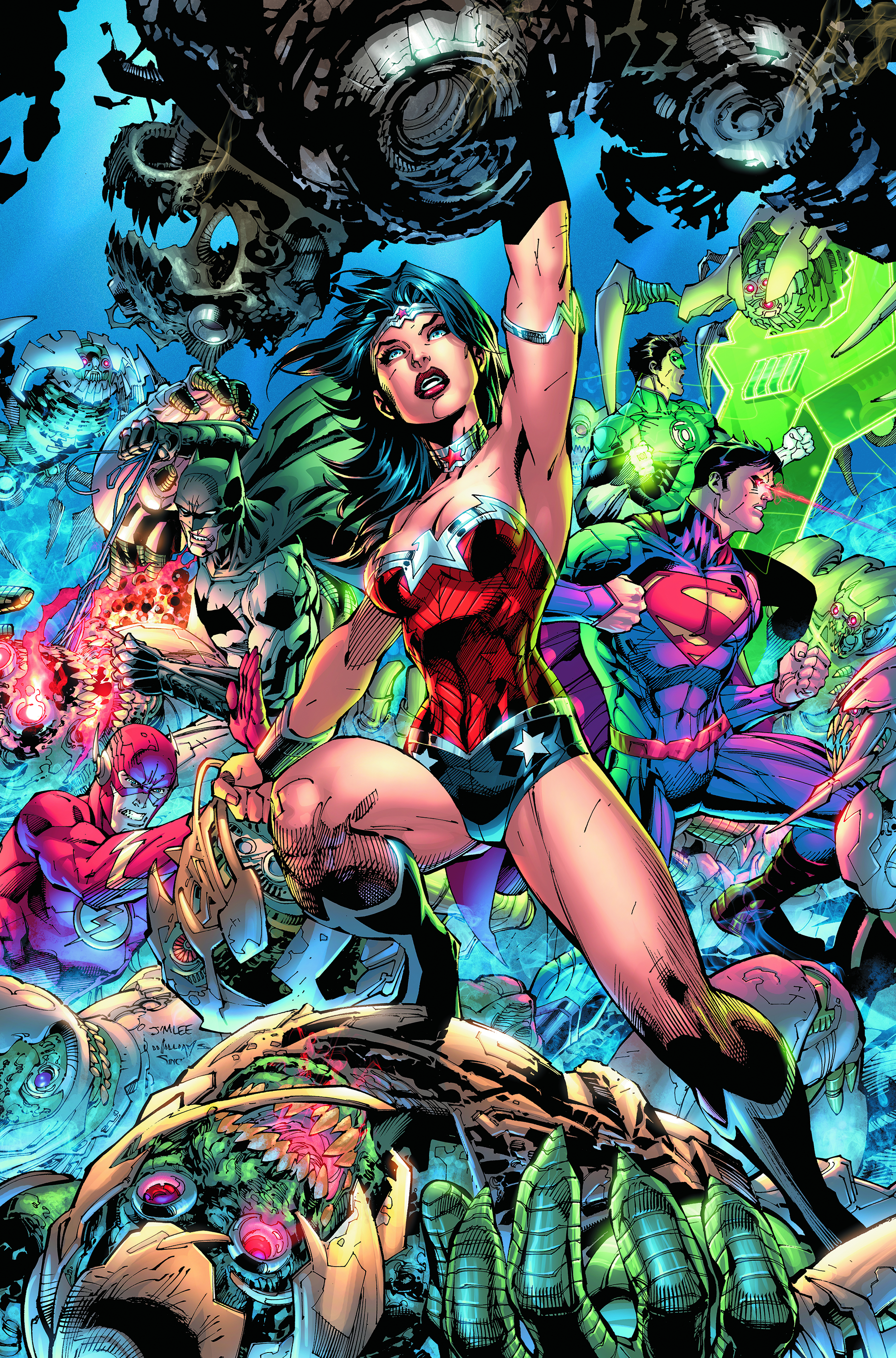 JUSTICE LEAGUE #3 COMBO PACK