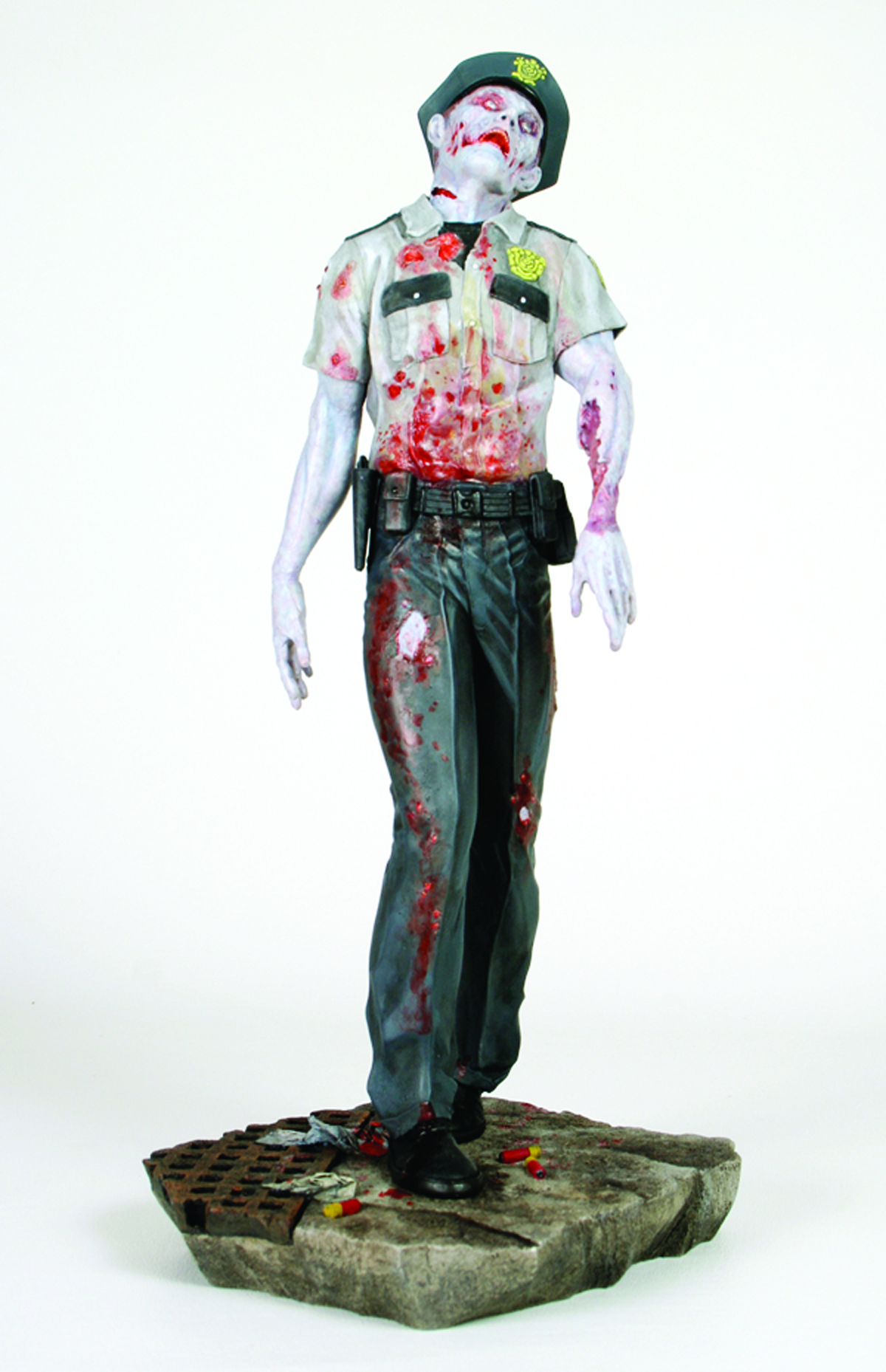 RESIDENT EVIL 1/6 SCALE ZOMBIE COP STATUE