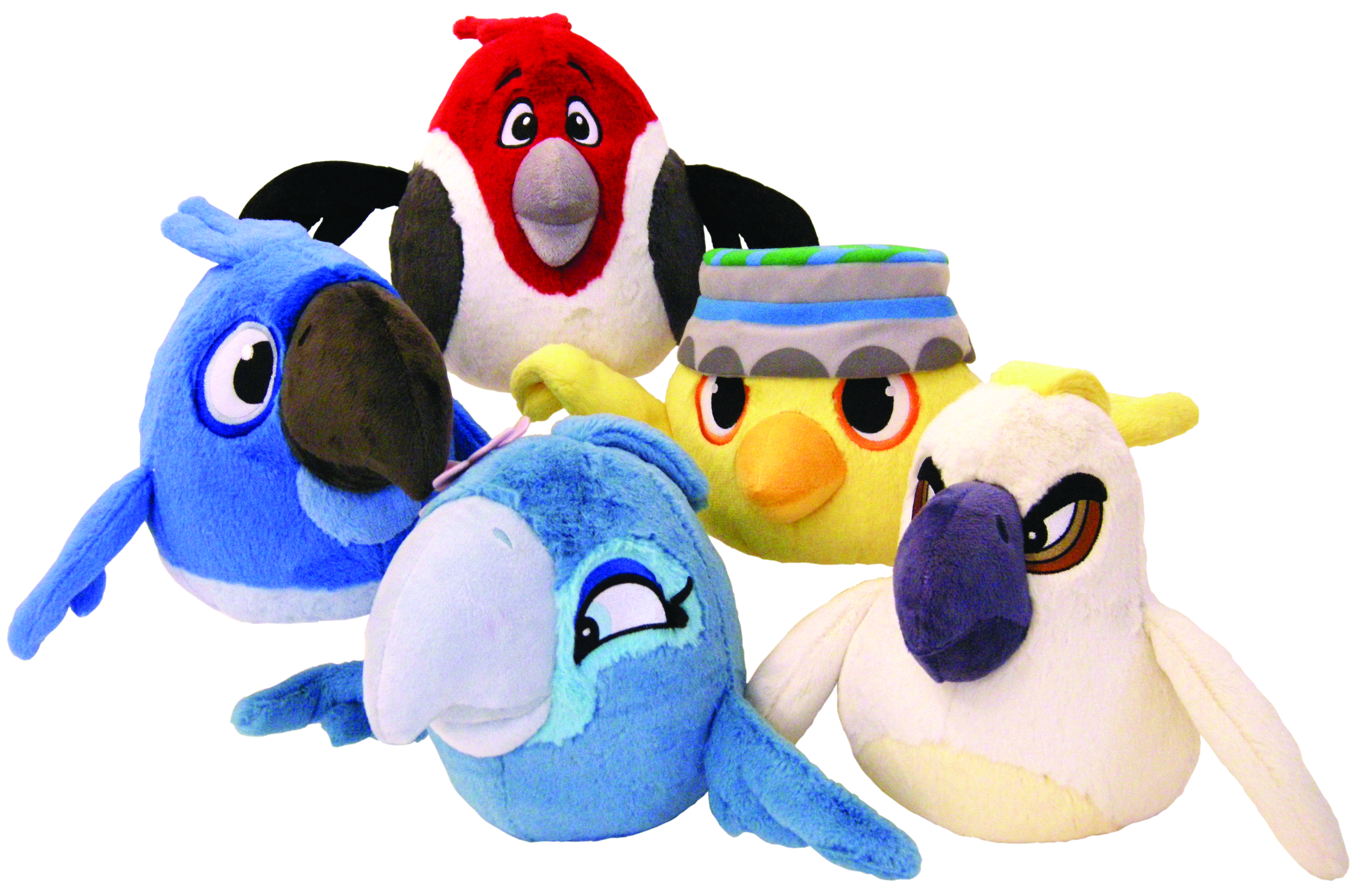 ANGRY BIRDS RIO 8-IN PLUSH ASST
