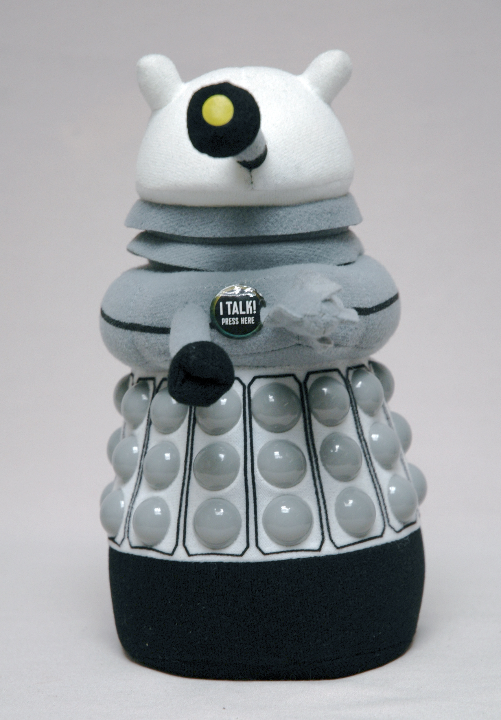 DOCTOR WHO WHITE DALEK PX TALKING PLUSH
