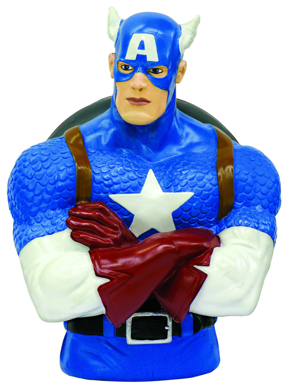 CAPTAIN AMERICA RESIN BUST BANK