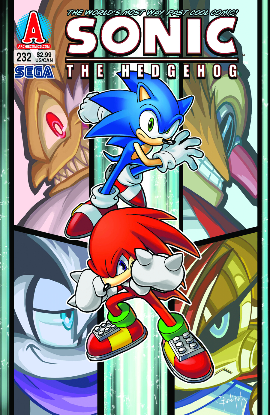 SONIC THE HEDGEHOG #232