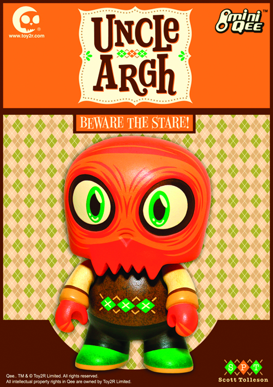 UNCLE ARGH TOYER 5IN MINI QEE VINYL FIG