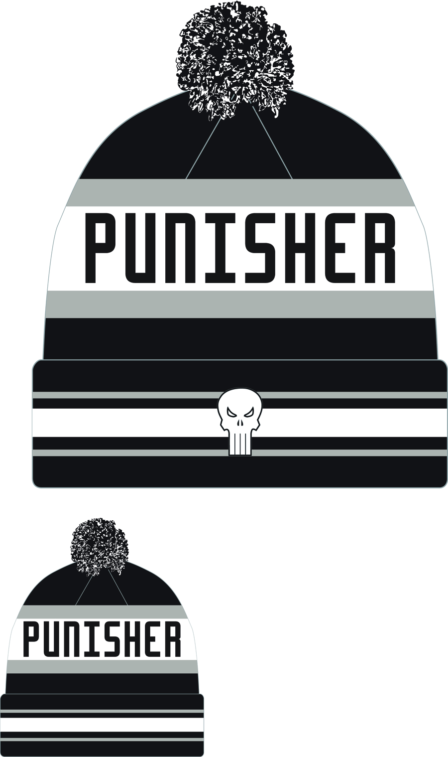 PUNISHER JAKE3 KNIT CAP