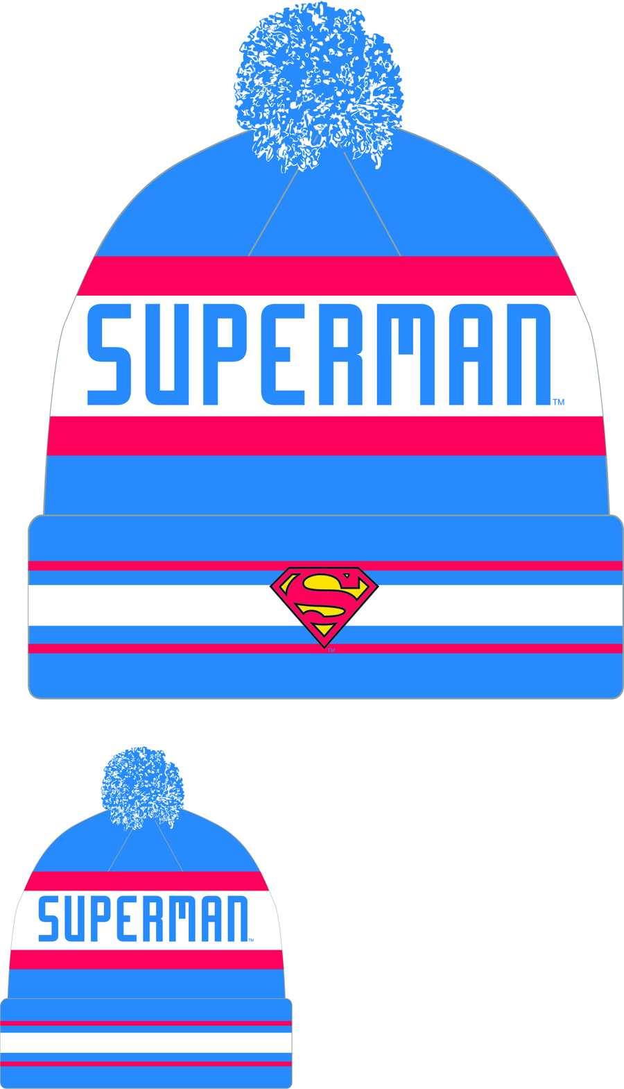 SUPERMAN JAKE3 KNIT CAP