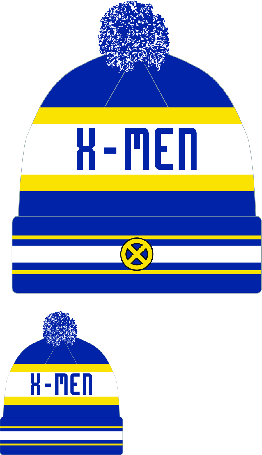 X-MEN JAKE3 KNIT CAP
