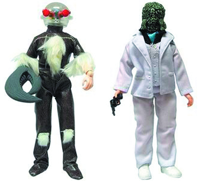 DOCTOR WHO SCAROTH & MORBIUS 8-IN AF ASST
