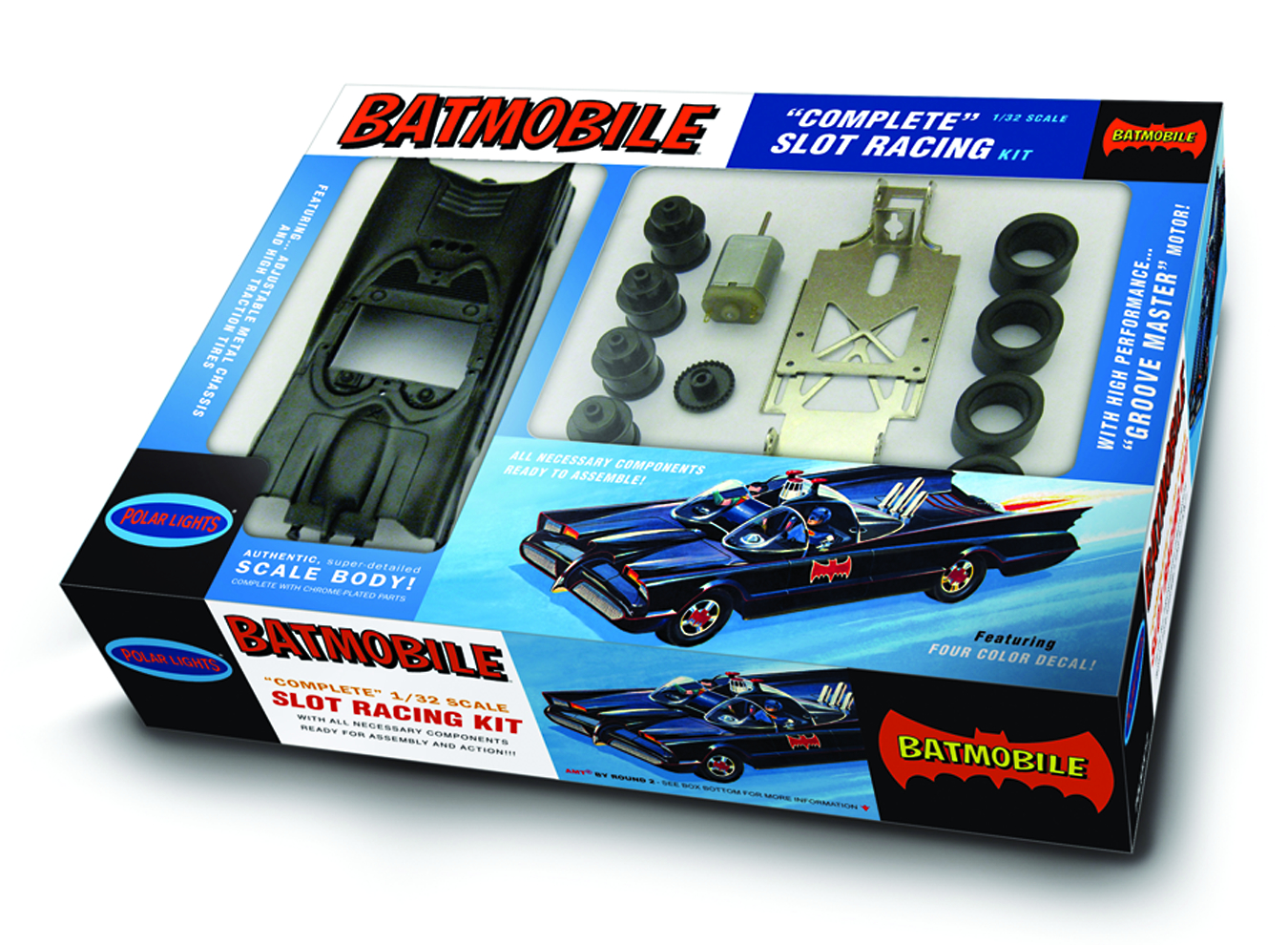 AUTO WORLD 1966 BATMOBILE 1/32 SLOT CAR KIT
