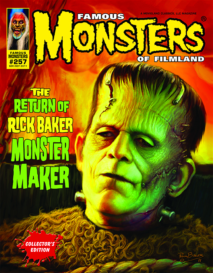 FAMOUS MONSTERS OF FILMLAND SDCC CVR #257