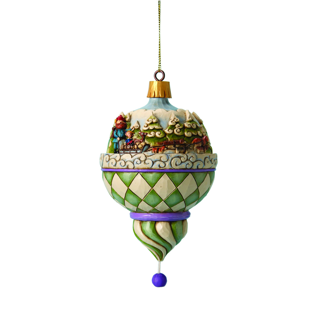 OCT112015 - RUDOLPH TRADITIONS ICE SCENE ORNAMENT - Previews World