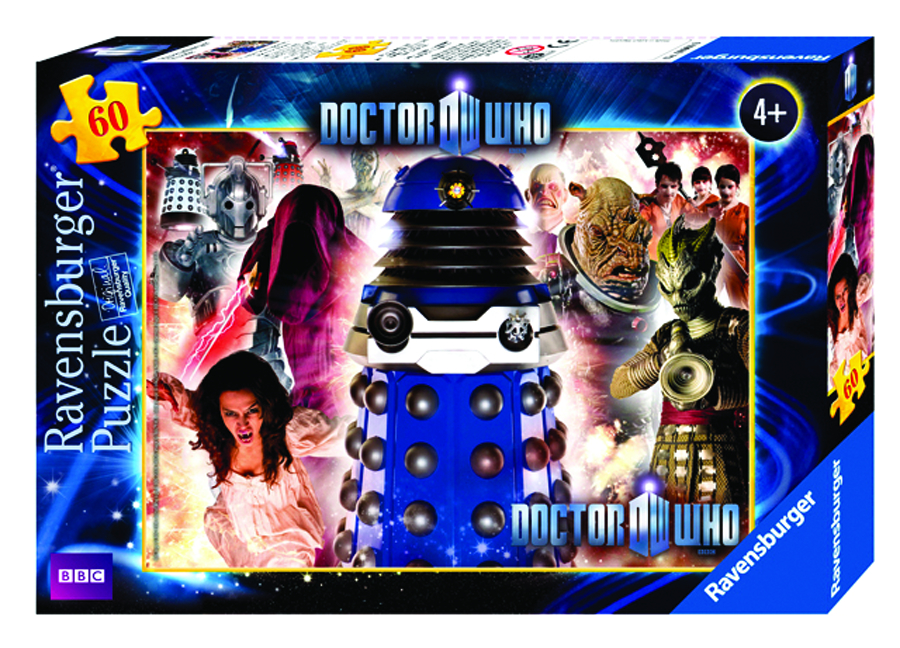 DOCTOR WHO ENEMIES 60 PC PUZZLE
