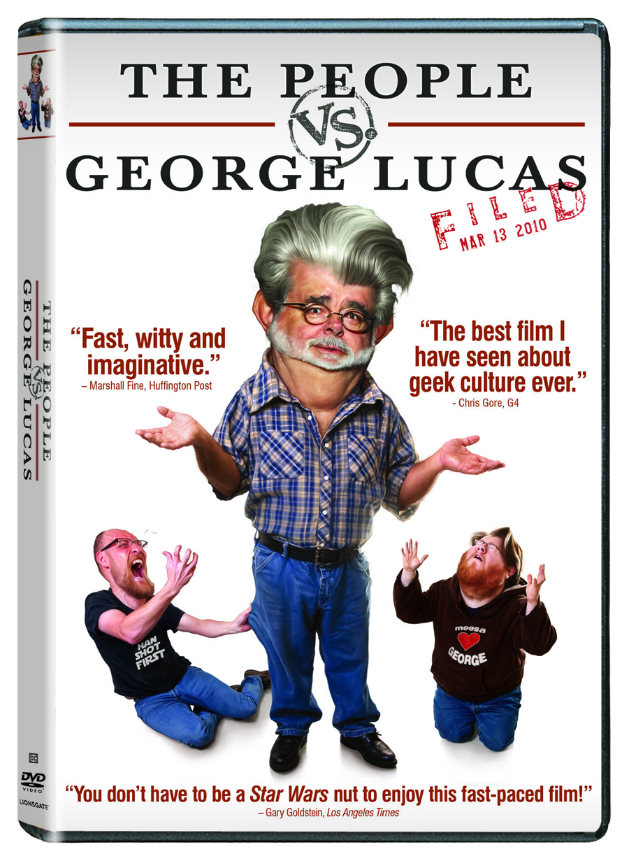 PEOPLE VS GEORGE LUCAS DVD