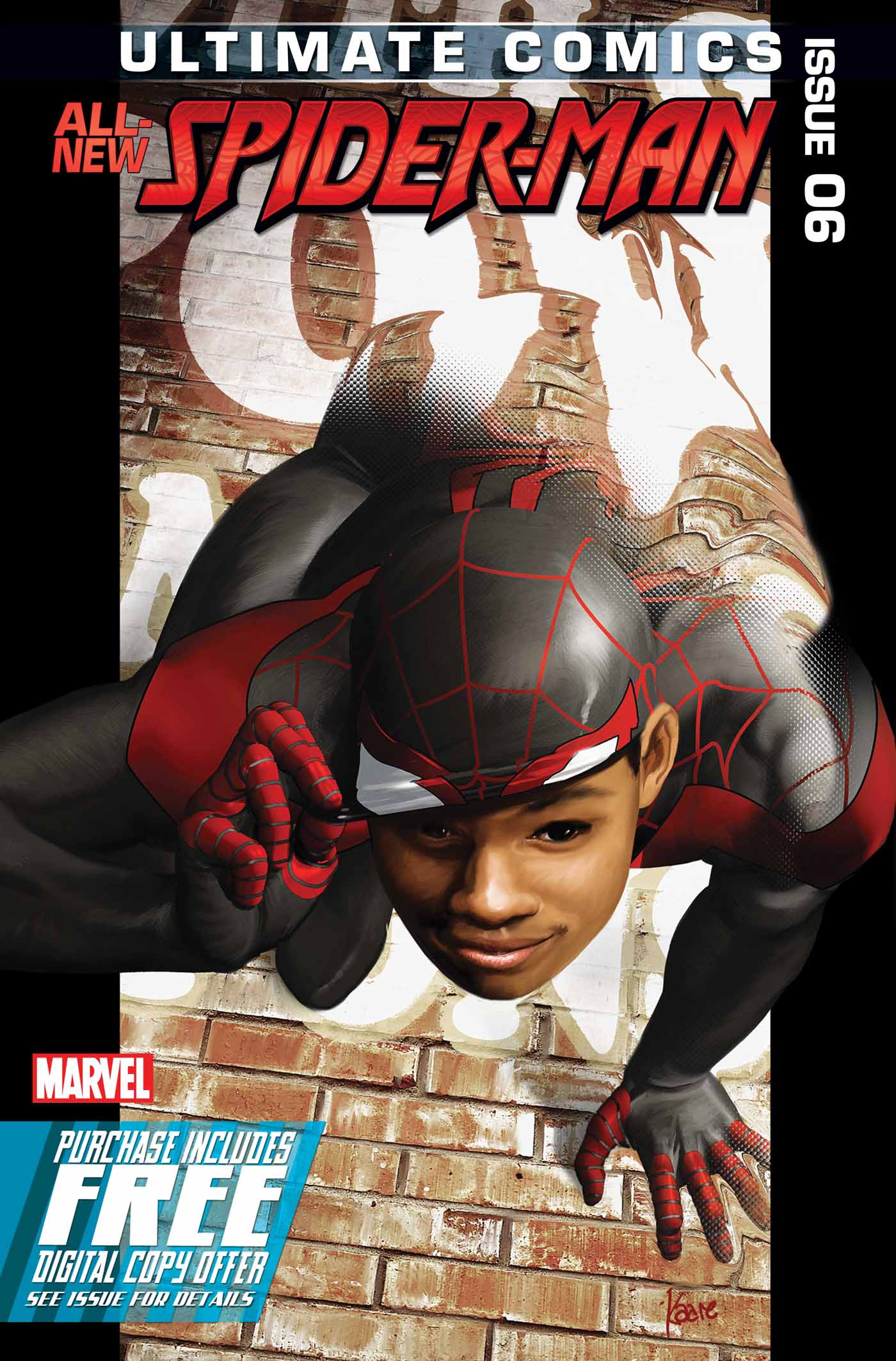 ULTIMATE COMICS SPIDER-MAN #6 WITH DIGITAL CODE (RES)