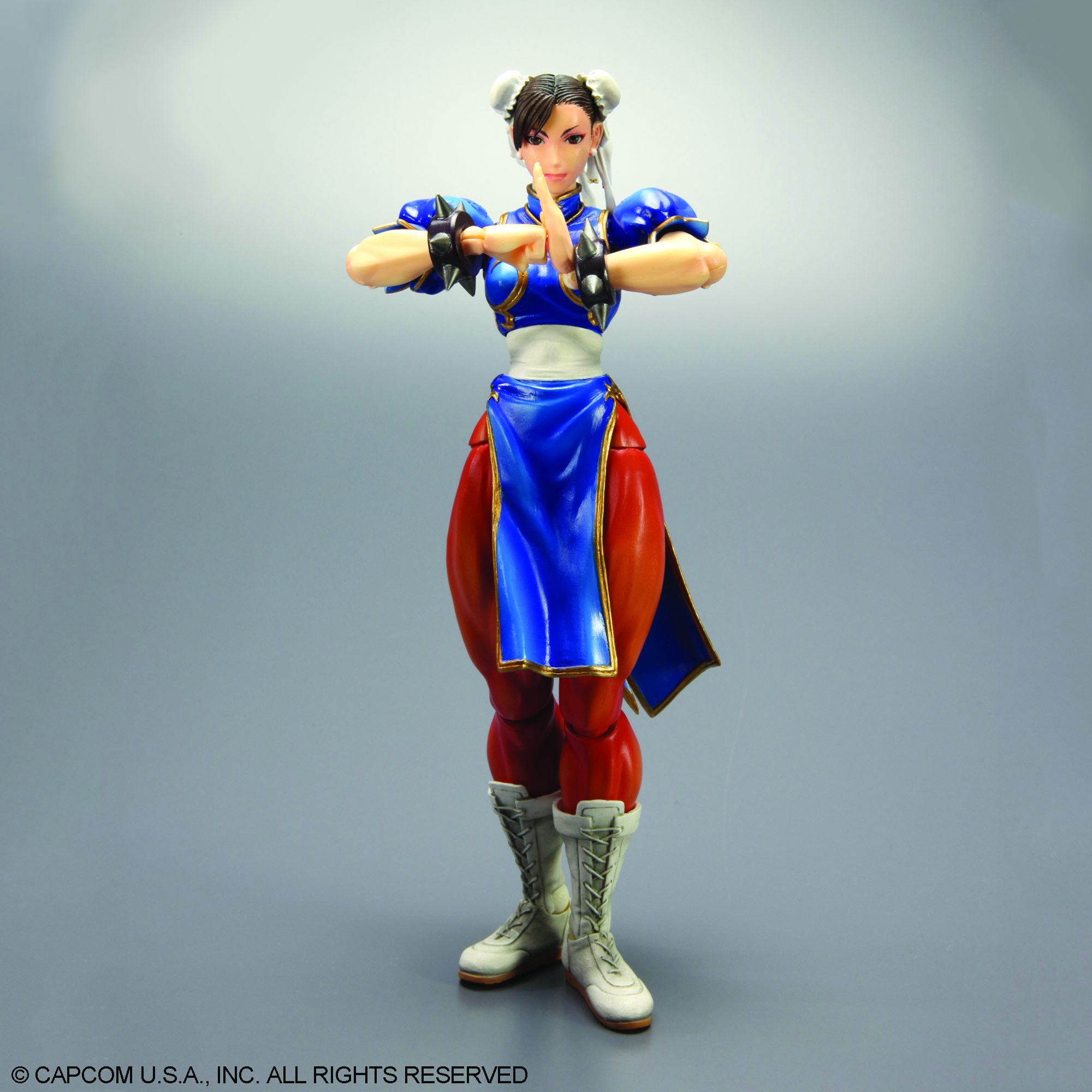 STREET FIGHTER IV PLAY ARTS KAI CHUN-LI AF