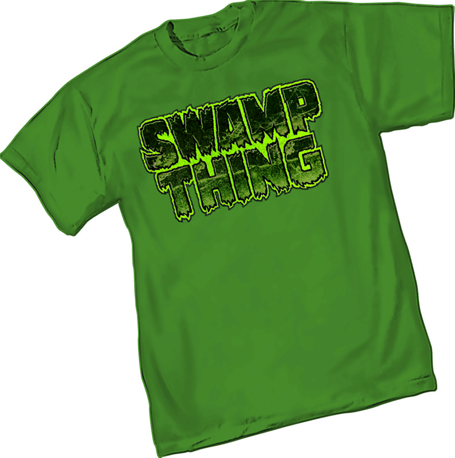 SWAMP THING LOGO T/S XL